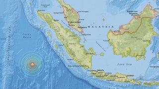 Terratrembels posteriurs avant l'Indonesia