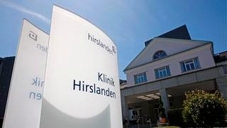 Klinik Hirslanden Zürich erfüllt Kriterien nicht