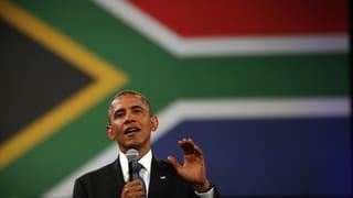 Obama trifft Mandelas Familie