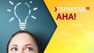 Jeden Montag: «Espresso Aha!»
