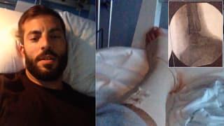 Bligg im Spital – OP nach Verletzung bei Video-Dreh