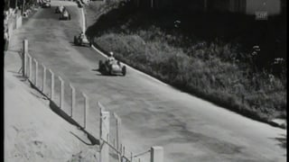 Autorennen in der Schweiz? Ja, die gab es