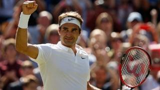 Der achtbeinige Roger Federer