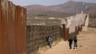 Mehr illegale Grenzübertritte von Mexiko in die USA
