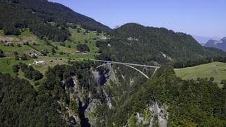 St. Galler Regierung verteidigt neue Taminabrücke