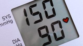 Der Blutdruck darf etwas weiter steigen