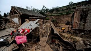Tote nach schwerem Erdbeben in China