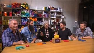 «Die Goldene Stricknadel»: Promi-Männer lernen stricken