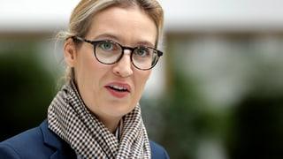 Geldzufluss aus Belgien setzt Weidel weiter unter Druck