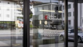 Schwyzer Kantonalbank fährt mehr Gewinn ein