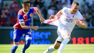 Basel lässt in Sion Punkte liegen