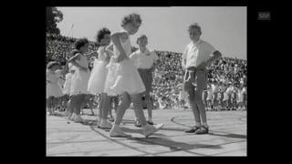 Das Kinderfest in schwarz-weiss
