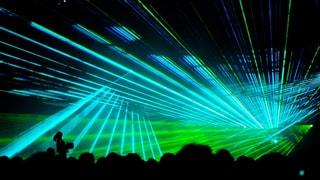 Lasershow statt Feuerwerk
