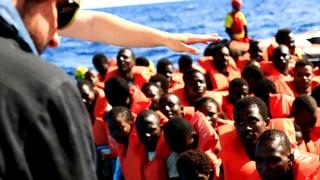 6000 Flüchtlinge aus dem Meer gerettet – an einem Tag