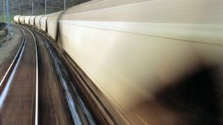 Mehr Güterverkehr auf Schweizer Schienen und Strassen denn je