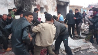 Luftangriff in Syrien fordert über 60 Tote