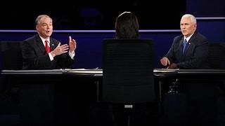 Das Duell der Nummern Zwei: Kaine greift an, Pence kämpft zurück