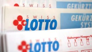Lotto-Glückspilz ist um 32 Millionen Franken reicher