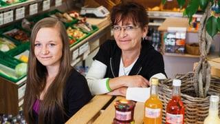 Conny und Jenny Widler – Lädeli-Besitzerinnen in Bütschwil
