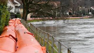Hochwasser-Gefahr auch im Aargau?