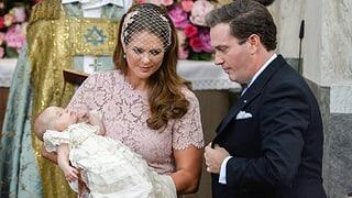 Grosser Augenblick für kleine Prinzessin: Das war Leonores Taufe