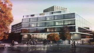 Münchner bauen das neue ETH-Gebäude auf dem Schällemätteli