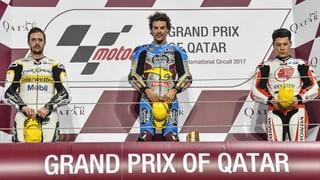 Tom Lüthi segund a Katar