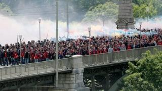 Cupfinal: Es wird eng in der Berner Innenstadt
