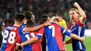 Basler Gala-Abend bei 5:0-Heimsieg gegen Benfica