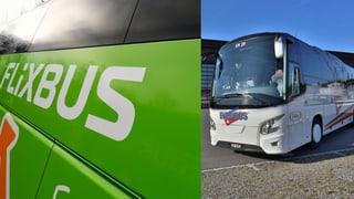 Flixbus collavura cun Eurobus