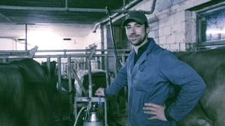 Vom Ausgang zum Kühemelken – aus dem Alltag eines jungen Bauern