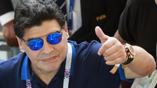 Maradona wird Trainer in Mexiko