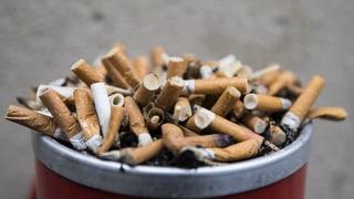Schweiz schneidet im Kampf gegen Tabaksucht schlecht ab