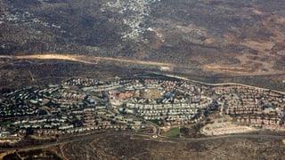 Palästinenser empört über Israels neue Siedlungspläne
