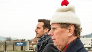 #srfagglo: Tom Gisler berichtet aus Ostermundigen