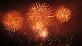 Das grosse Feuerwerks-Duell in Oensingen