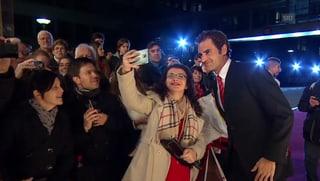 Schaulaufen der Stars: Roger Federer & Co an den «Sports Awards»