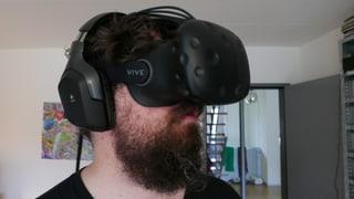 Virtual Reality mit der «Vive»: Das braucht's, damit's läuft