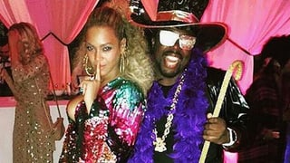 Beyoncé feierte wilde 70er Party