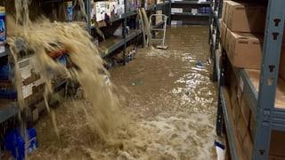 Unwetter: 500 Schadensmeldungen im Aargau