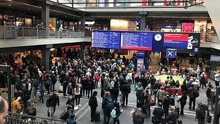 Bahnverkehr in Bern war eine Stunde lang blockiert