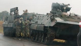 Militar sa maschaida en en il Zimbabwe