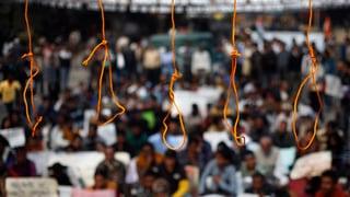 Indien: Mutmassliche Vergewaltiger plädieren auf «nicht schuldig»