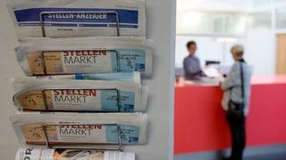 Martgà da lavur svizzer stabil - Grischun: main dischoccupaziun