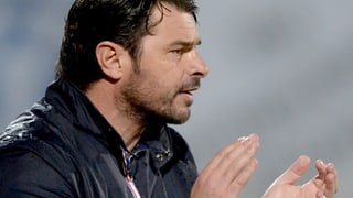 FC Wohlen ist mit Trainer Ciriaco Sforza Wintermeister 2014/2015