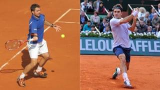 French Open: Federer - Lacko und Wawrinka - Garcia-Lopez