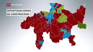 67 vischnancas ston empitschnir lur zonas da construcziun
