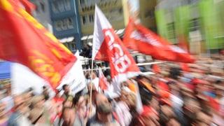 Demonstration für gleiche Löhne