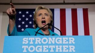 «Ein einmaliges Vorgehen»: Clinton attackiert FBI-Chef