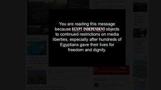 Wegen Mursi: Ägyptens Medien streiken